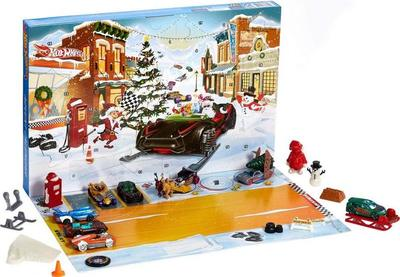 Hot Wheels Adventskalender 2019 - Inhalt