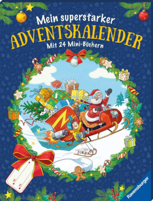 Mein superstarker Adventskalender - Ravensburger Minis 2019