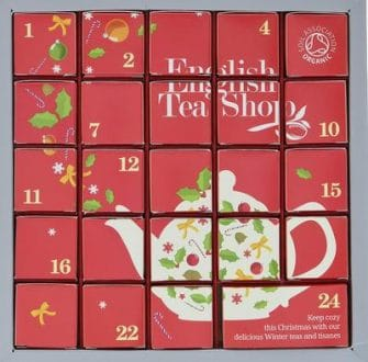 English Tea Shop Pink Christmas Tee Adventskalender Vegan 2020