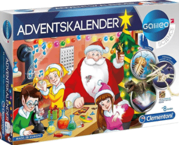 Clementoni 59080 Galileo Science Adventskalender
