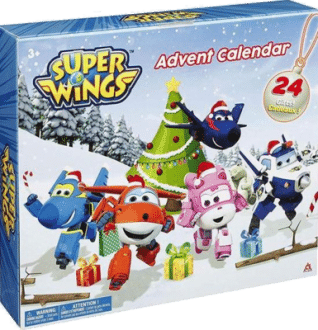 Waiky EU730910 Super Wings Adventskalender