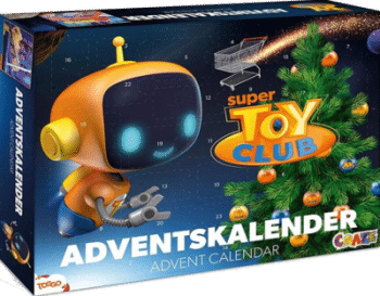 CRAZE 20289 Adventskalender Super Toy Club Inhalt
