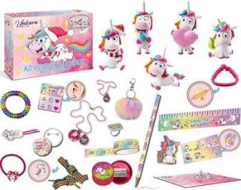 Craze Premium Adventskalender Unicorn Einhorn 2019 Inhalt