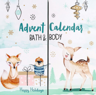 Accentra Happy Holidays Bath & Body Adventskalender für Mädchen 2020