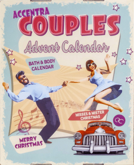 Accentra Retro Couples Adventskalender für Paare 2021