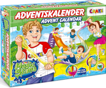 CRAZE 24737 Adventskalender Kinder 2020 Magic Slime