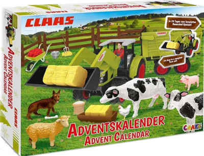 CRAZE Adventskalender  CLAAS Maschinen