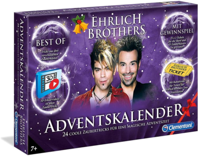 Clementoni 59084 Ehrlich Brothers Adventskalender best of Magic