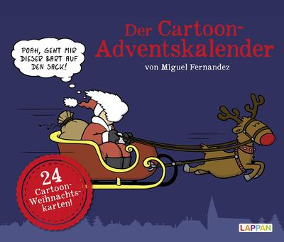 Der Cartoon Adventskalender