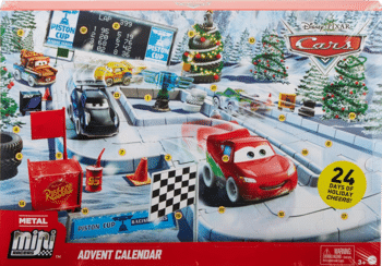 Disney Cars GPG11 Minis Adventskalender 2020