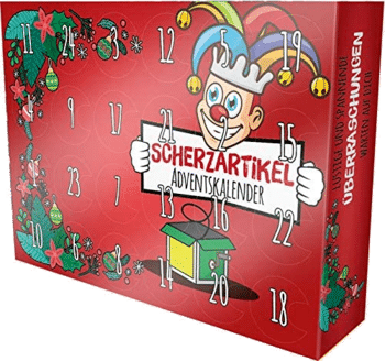 Erfurth Fun Adventskalender lustige Dinge Scherzartikel