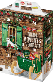 Intersnack Adventskalender Snacks