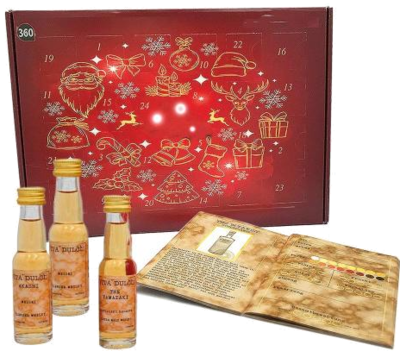 Whisky Adventskalender Classic - Edition 2019, 24 Single Malt Whiskys je 20ml aus Schottland