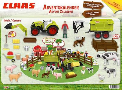CRAZE Adventskalender 2019 CLAAS Maschinen