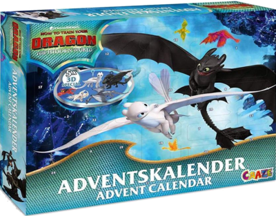 Dragons Adventskalender 2019 von CRAZE