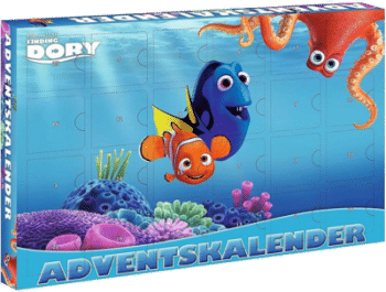 CRAZE 53974 Adventskalender Finding Dory 2016