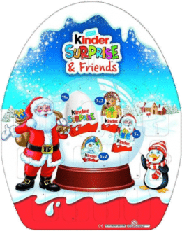 Überraschung & Friends Adventskalender Kinderschokolade