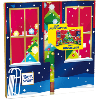 Ritter Sport Pop Up Adventskalender
