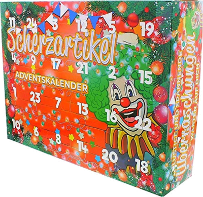 Erfurth Fun Adventskalender 2019 lustige Dinge Scherzartikel