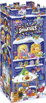 Nestle SMARTIES Adventskalender Burg