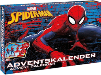 CRAZE 57484 Marvel Spider-Man Adventskalender