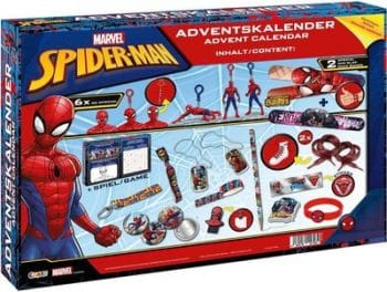 CRAZE 57484 Adventskalender Marvel Spider-Man Inhalt