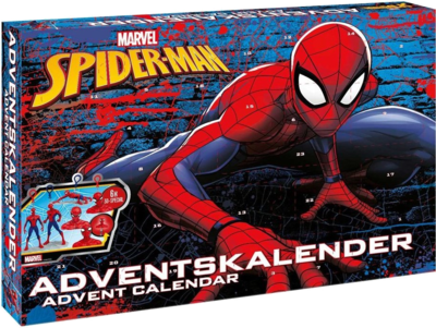 CRAZE 57484 Adventskalender Marvel Spider-Man