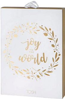 TOSH 701-023 Joy to The World Damen Schmuck Adventskalender 2020
