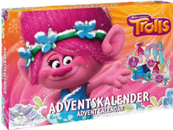 CRAZE 57347 Trolls Adventskalender