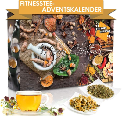 "C&T Wellness-Tee-Adventskalender ""Fit for Christmas 2019"""