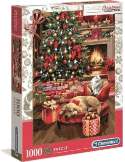 Clementoni 39580Collection – Christmas by the FireWeihnachtspuzzle 2021