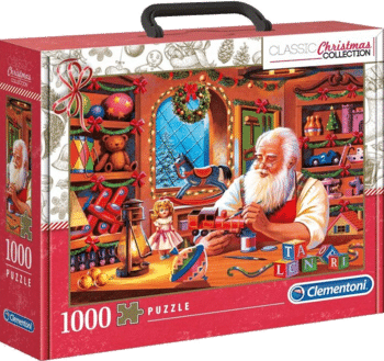 Clementoni 39584 Christmas Collection – Santa WorksWeihnachtspuzzle 2021