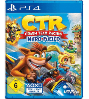 Crash Team Racing Nitro-Fueled - beste Beste Videospiele für Kinder