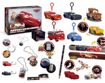Craze 13786 - Adventskalender Disney Pixar Cars Inhalt