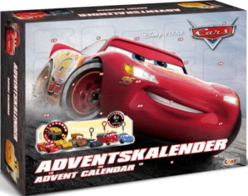 Craze 13786 - Adventskalender Disney Pixar Cars 2018