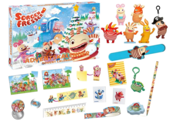 Craze 57446 Sorgenfresser Inhalt Adventskalender Kinder 2020