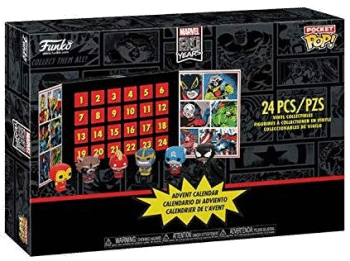 Funko 42752 Marvel Pocket Pop Adventskalender mit 24 Pop!