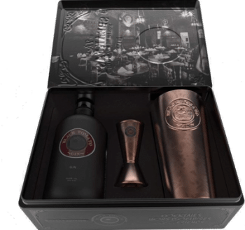 Gift box Black Tomato Gin + Shaker Set