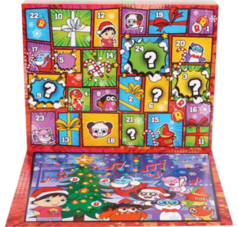 JP Ryans World JPL79350 Ryan's World Pizza-Adventskalender