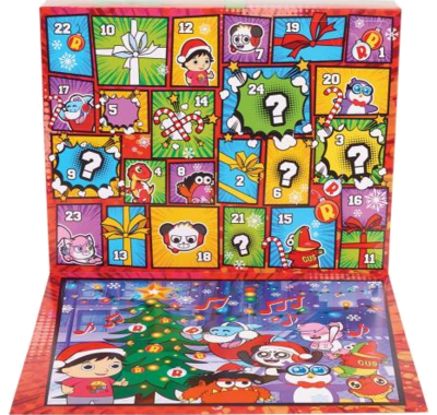 JP Ryans World Ryan's World Pizza-Adventskalender Spielzeug 2020