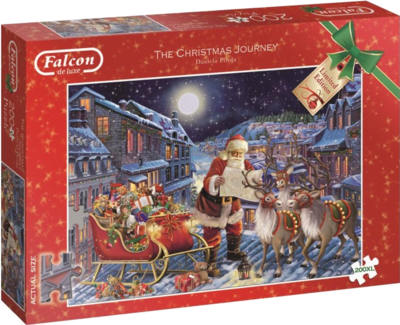 Jumbo Spiele 11173 Falcon The Christmas Journey 200XL Teile Weihnachtspuzzle