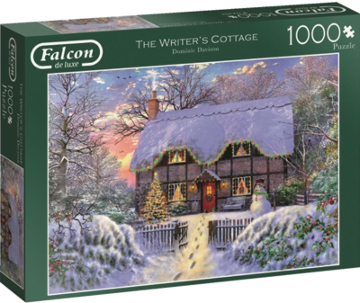 Jumbo Spiele 11187 Falcon The Writer's Cottage-1000 Teile 2017