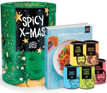 Just Spices Gewürz Adventskalender plus Kochbuch 2020