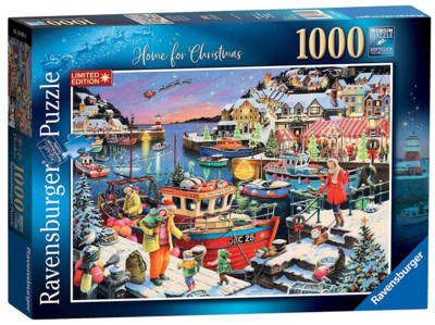 Ravensburger 13991 Home For Christmas Weihnachtspuzzle 2019
