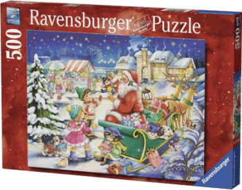 Ravensburger 14740 Weihnachtsmagie 500 Teile Puzzle