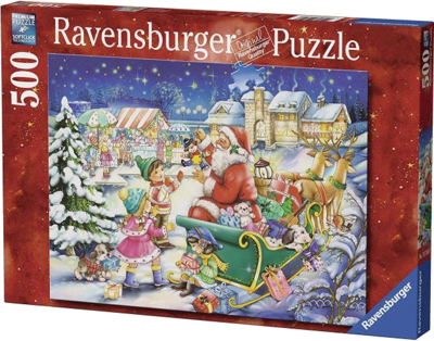 Ravensburger 14740 Puzzle Weihnachtsmagie 500 Teile 2016