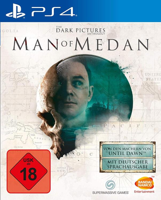 The Dark Pictures - Man of Medan Halloween Geburtstag Vatertag Geschenkidee Videospiel PS4 xBox one