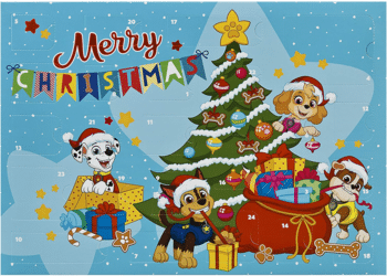 Undercover PPAT8024 Paw Patrol Merry Christmas Adventskalender