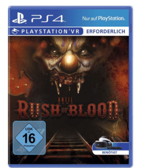 Until Dawn: Rush of Blood - beste PS4 VR Horrorspiele