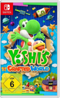Yoshi's Crafted World - Videospiele für Kinder